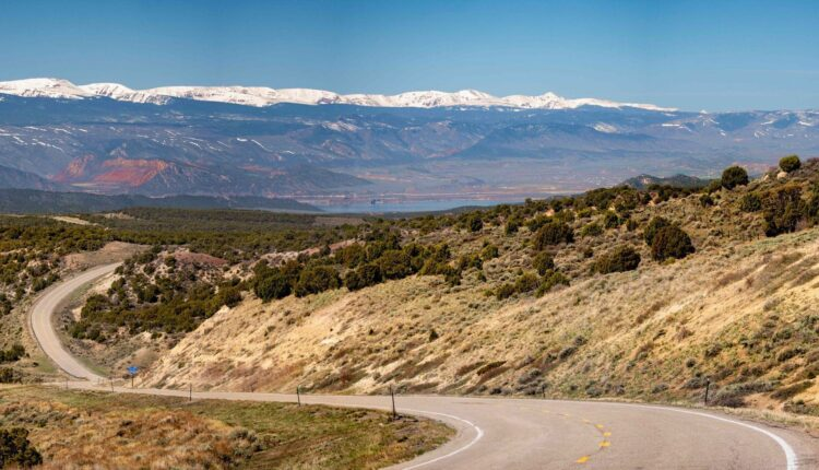 """PHOTOS: Flaming Gorge, picturesque back road known as the """"All-American Road""""."""